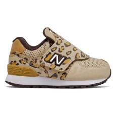 product-New Balance Sneakers in pelle Scratchs 574