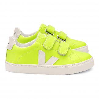 Sneakers aus Leder Esplar Neongelb