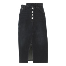 product-Current Elliott Jupe Denim The Cecilia