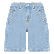 product-Hundred Pieces Long Denim Bermuda Shorts