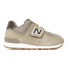 product-New Balance 574 Velcro Suede Trainers