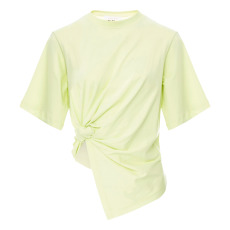 product-See by Chloé Assymetrical cotton t-shirt