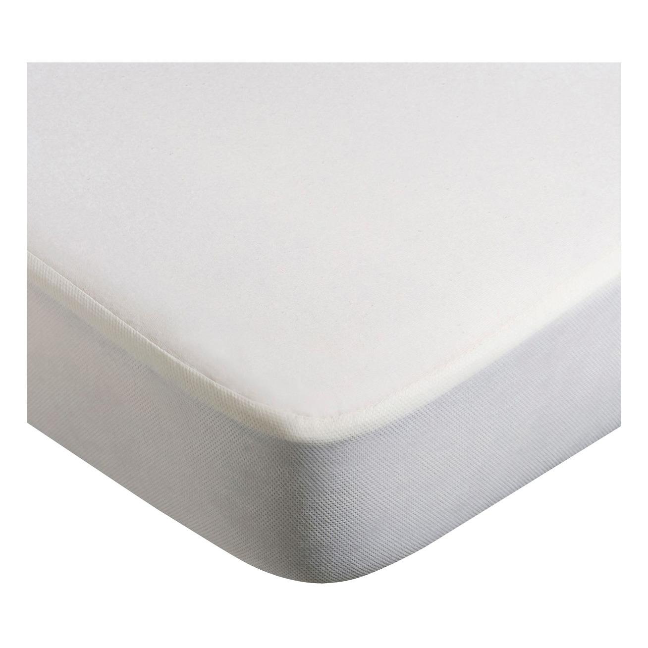 Kumi Cradle Bamboo Mattress Protector White Charlie Crane Design