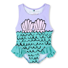product-Stella McCartney Kids Siren baby one-piece UV-protection swimsuit