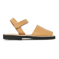 product-Minorquines Avarca Velcro Leather Sandals
