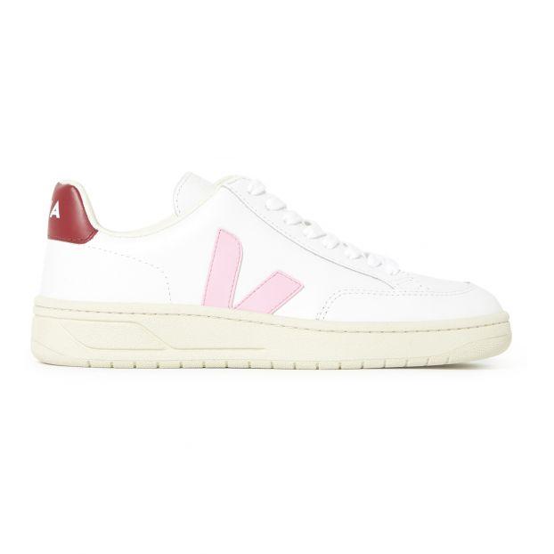 V-12 Leather Trainers Pink Veja Shoes Adult