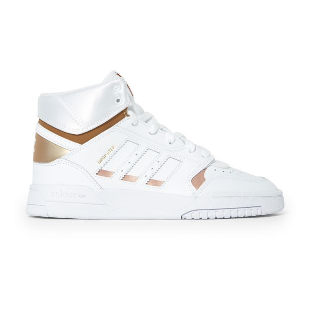 Drop Step High Top Trainers Rosa