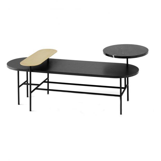 Table Basse En Frene Palette Jh7 Jaime Hayon 2018 Black
