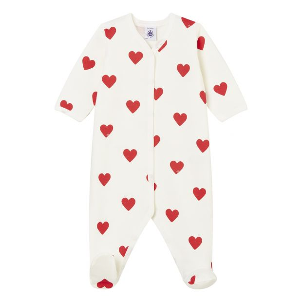 PETIT BATEAU BOYS AGE 2 YEARS RED AND WHITE 100/% COTTON BOXER SHORTS NEW