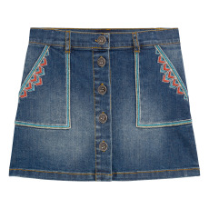 product-Bonpoint Exie Embroidered Skirt