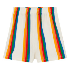 product-The Animals Observatory Poodle Terry Cloth Striped Shorts