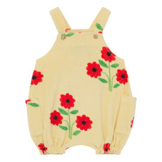 product-The Animals Observatory Boar Floral Terry Cloth Romper