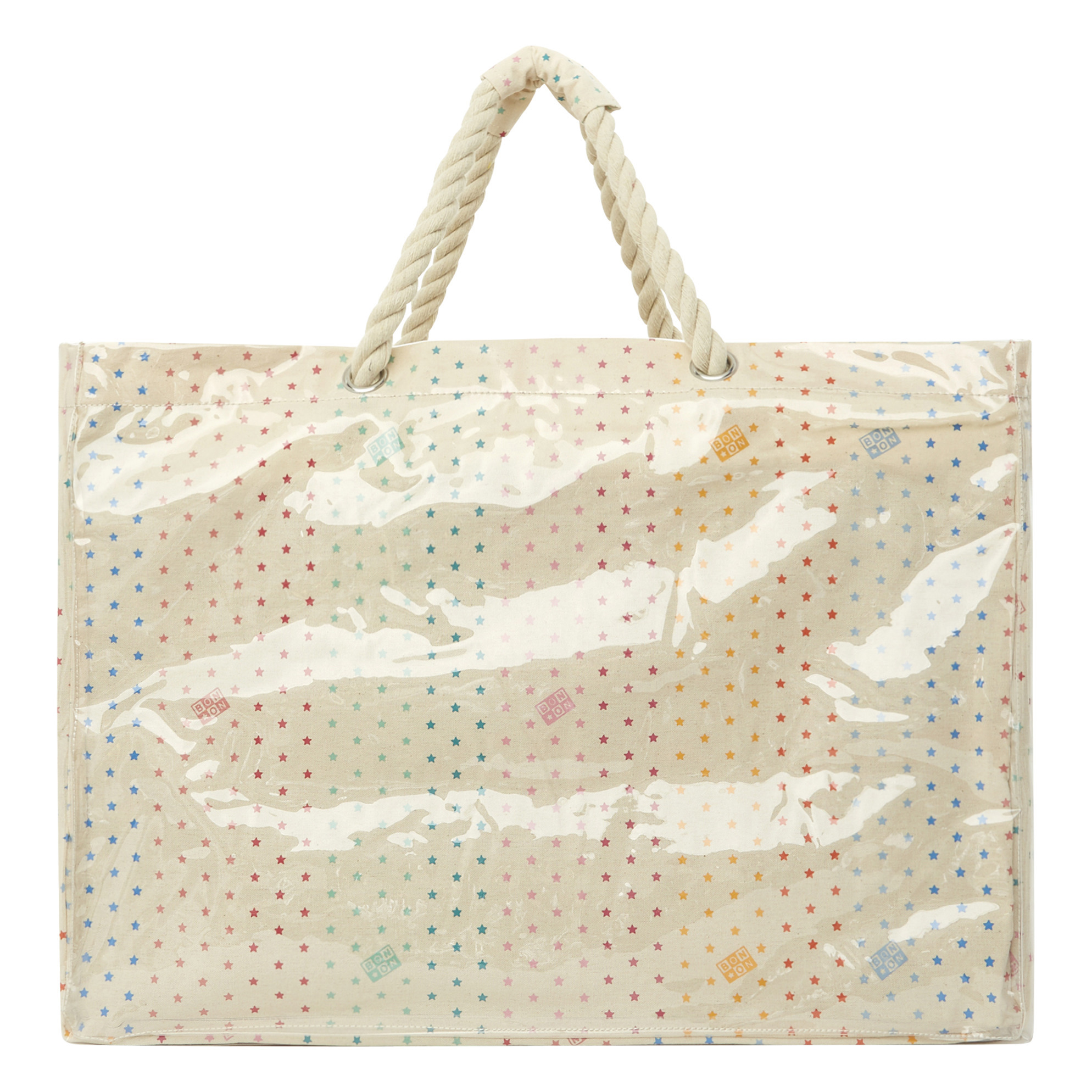 small plastic tote bags with handles