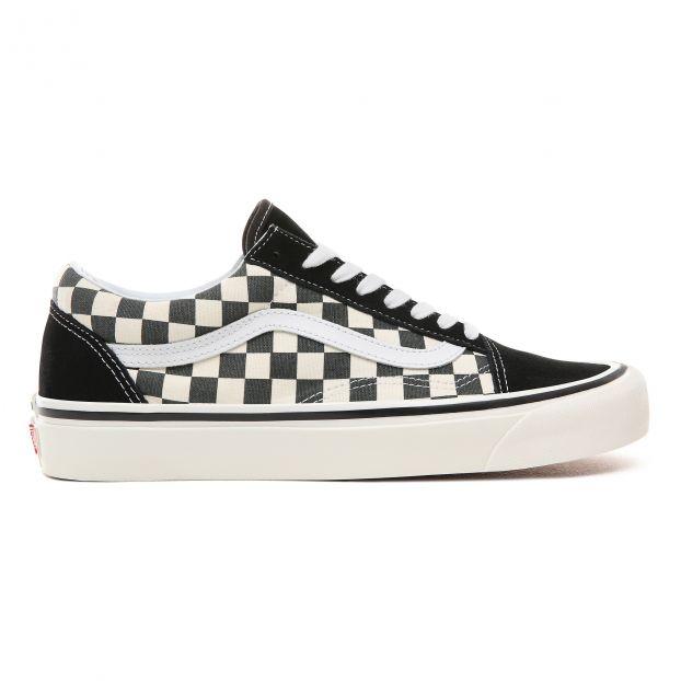 vans checkerboard trainers
