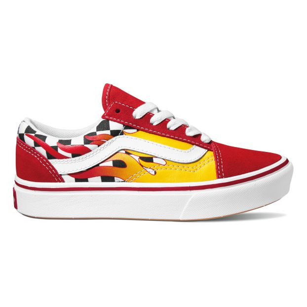 old skool vans rouge