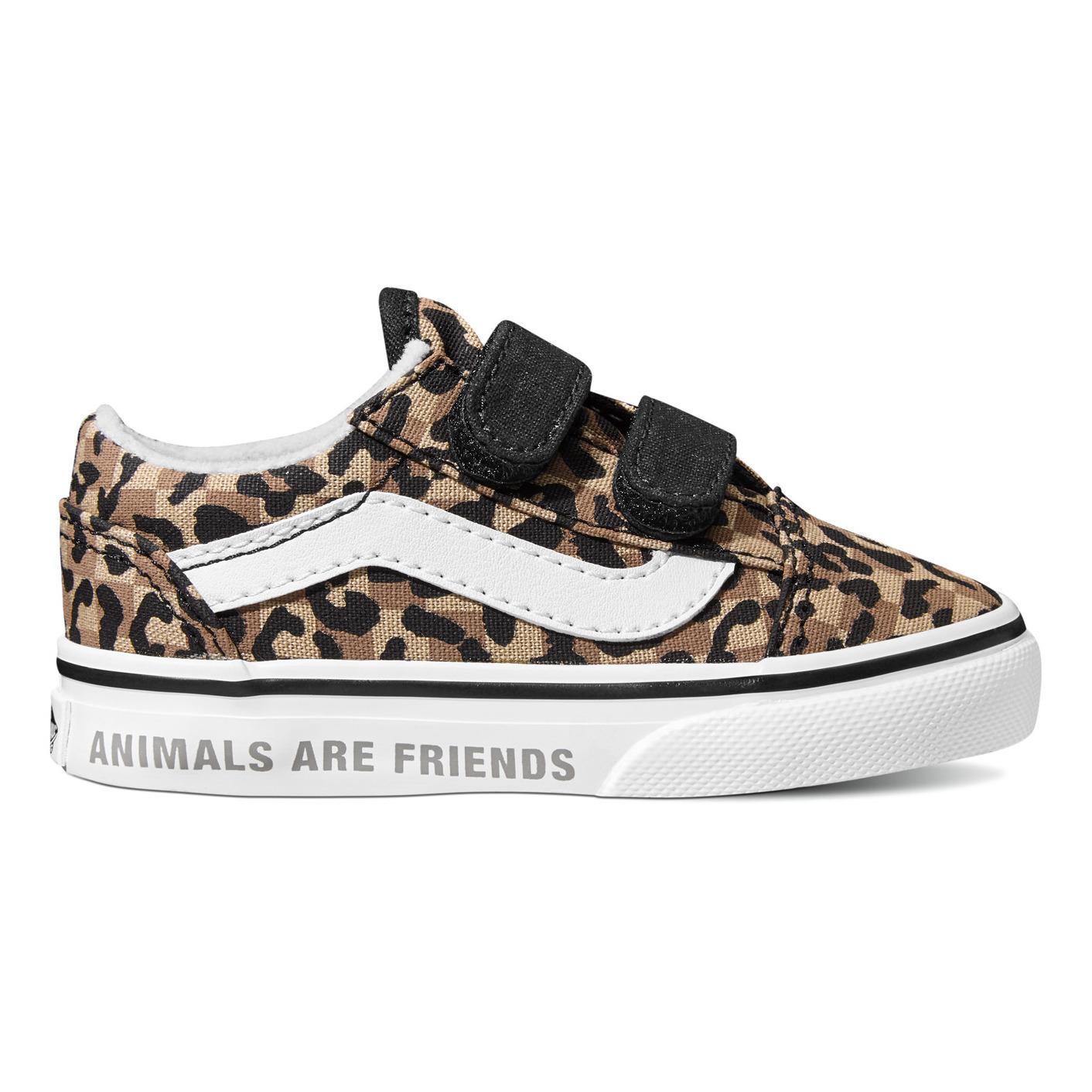 Chaussures Vans léopard enfants