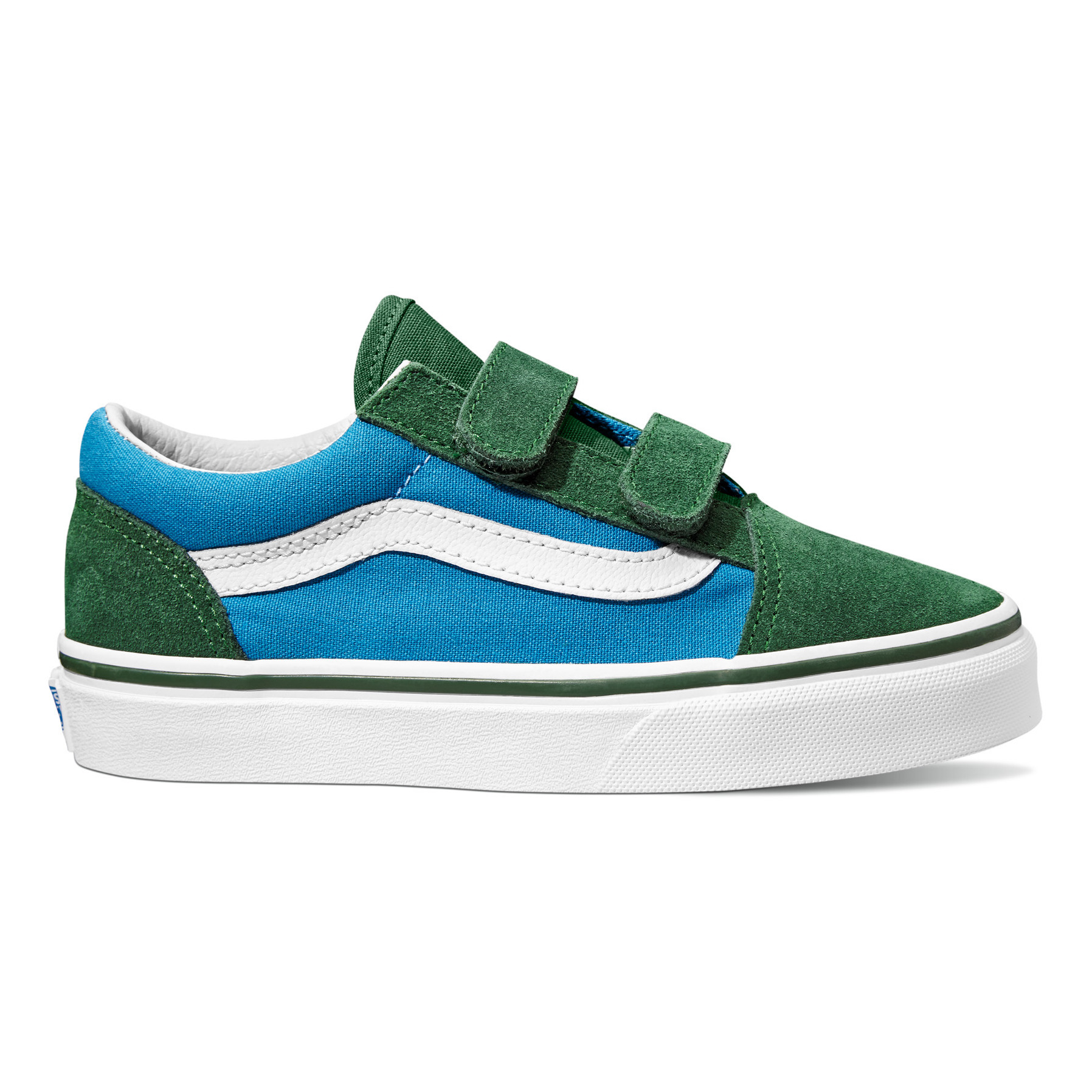 Vans old skool à lacets aqua shoes girl bonton