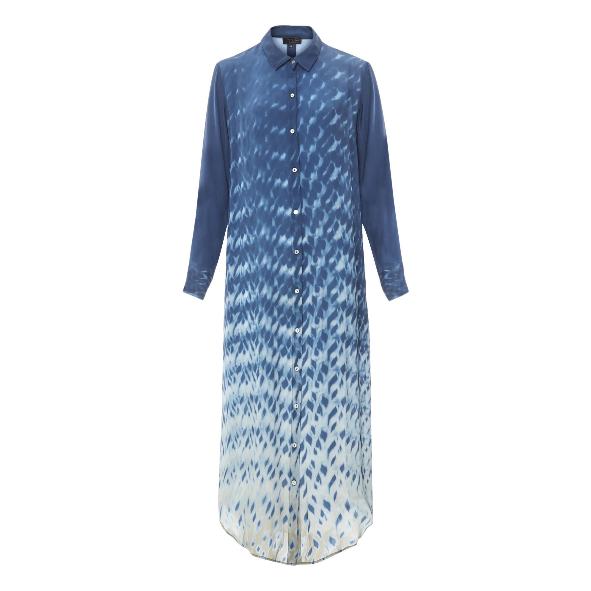 Koko Women/'s Plus Size Abito Camicia A Righe Multicolore
