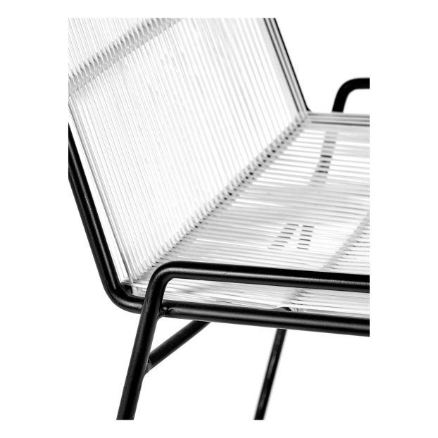 Chaise abaco en métal Blanc Serax Design Adulte