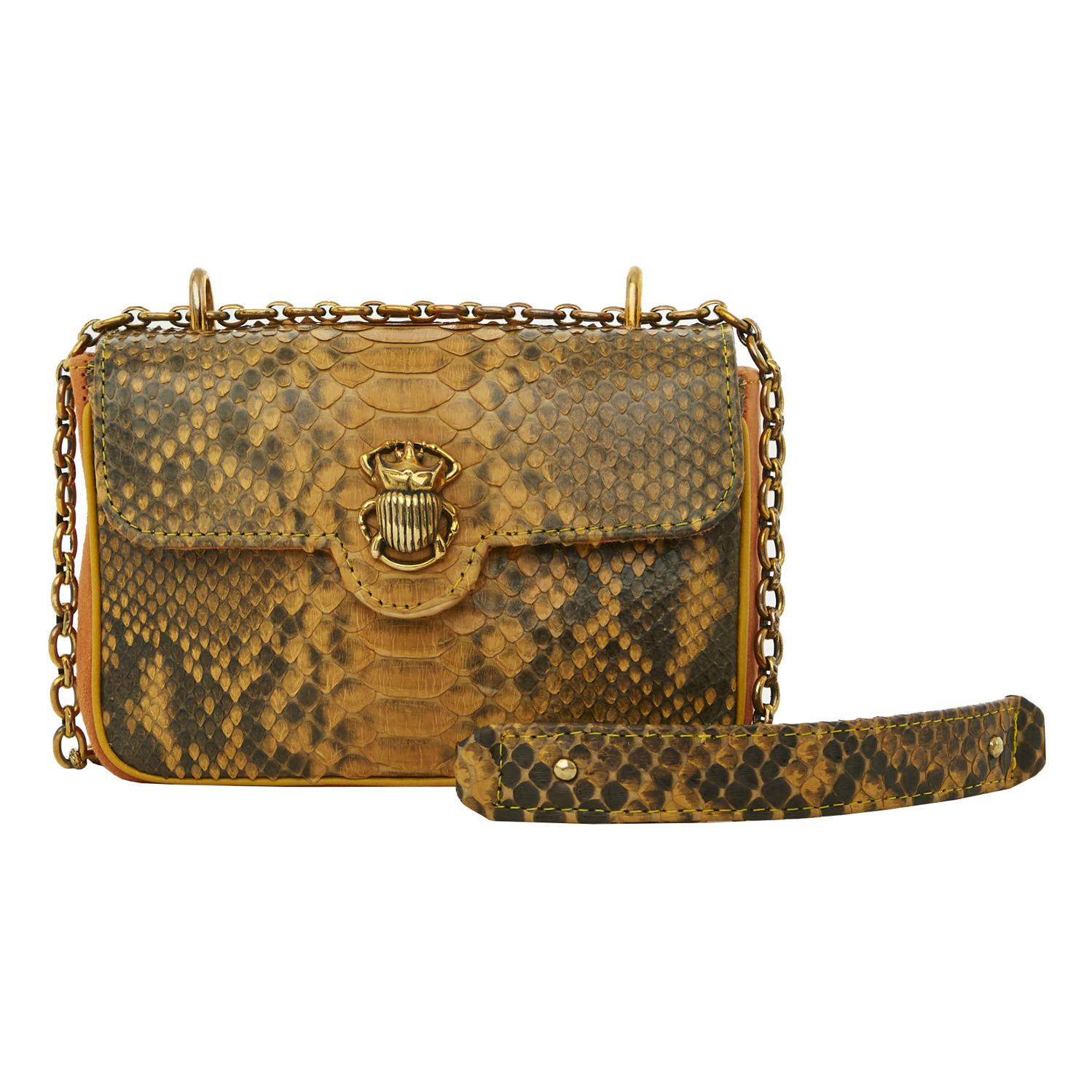 Tasche Mini Ava Python