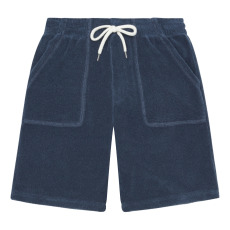 product-Hundred Pieces Terry Cloth Bermuda Shorts