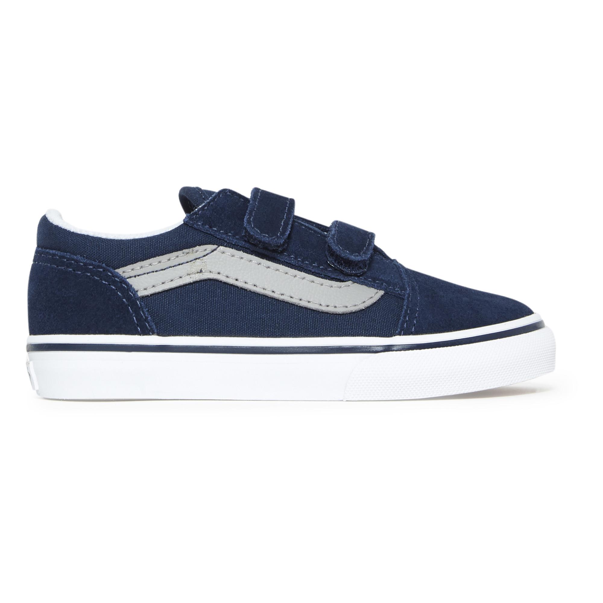 Old Skool Velcro Trainers Navy blue