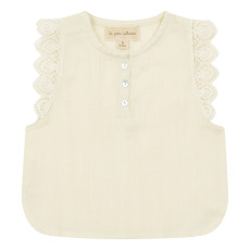 product-Lab - La Petite Collection Organic Cotton Gauze Top