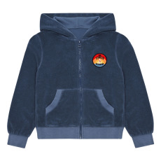 product-Hundred Pieces Sweat Zippée Eponge Surfer