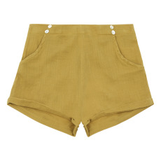 product-Lab - La Petite Collection Organic cotton gauze short - La Petite Collection x Smallable exclusive