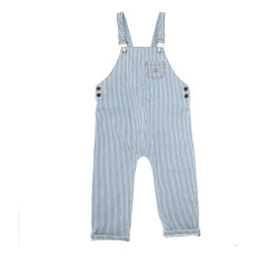 product-Tocoto Vintage Striped Overalls