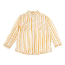 product-Tocoto Vintage Striped Cotton and Linen Shirt
