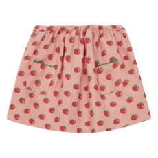 product-Oeuf NYC Tomato linen skirt