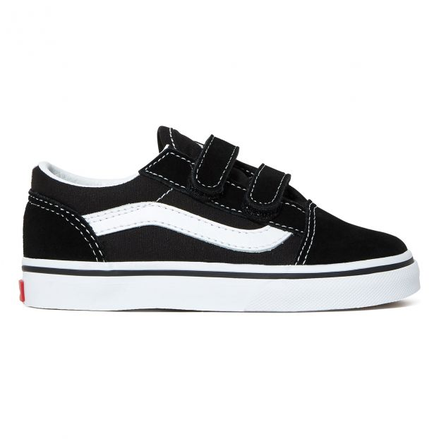 Old Skool Velcro Trainers Black Vans Shoes Baby , Children