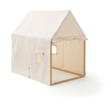 product-Kid's Concept Cotton canvas and wood house
