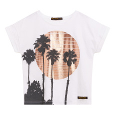 product-Finger in the nose New Britney Palm Tree T-shirt