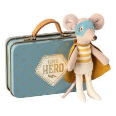 product-Maileg Superhero Mouse in Suitcase