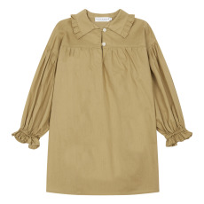 product-EAST END HIGHLANDERS Pleated Collar Blouse