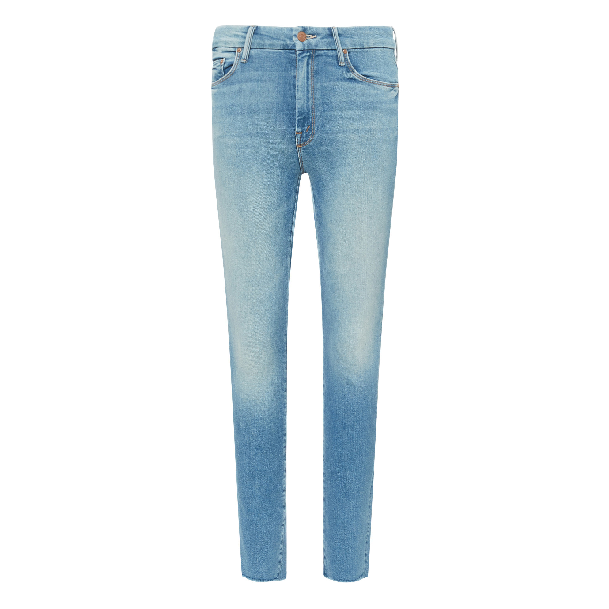 Jeans Skinny High Waisted Looker Ankle Fray