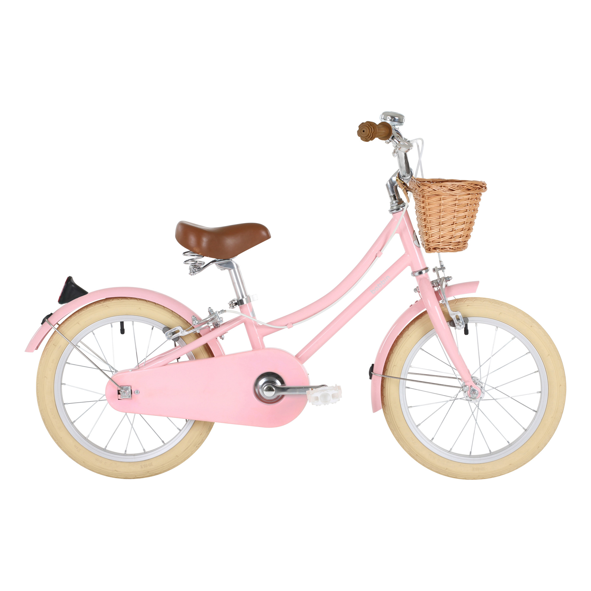 Gingersnap 16 Children S Bicycle Pale Pink Bobbin Toys And