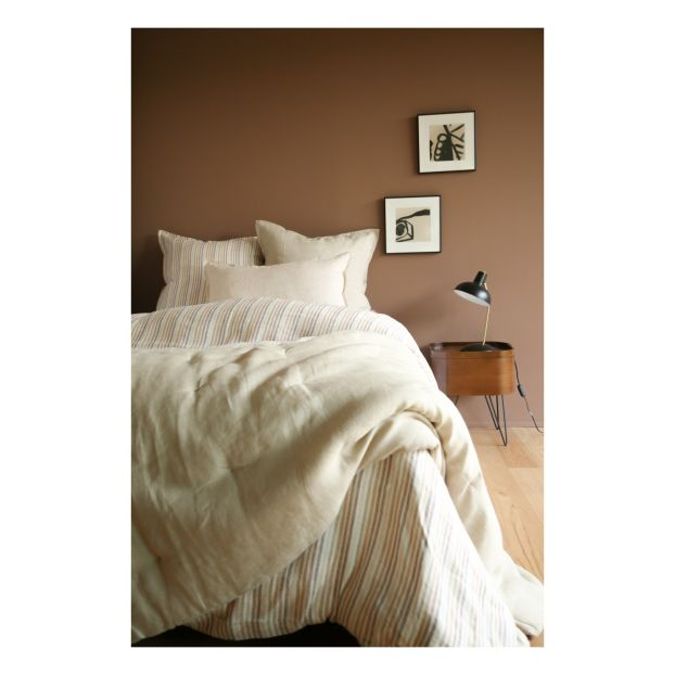 Washed Linen Pillowcase Caramel