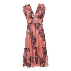 product-Ulla Johnson Robe Akira Soie et Lurex