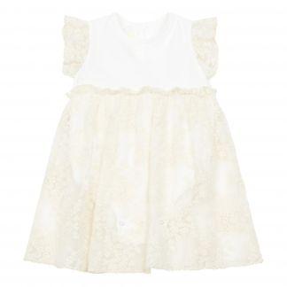 3 ans Bébé fille manteau crème baptême baptême parti élégant veste 0 m