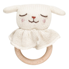 product-Main Sauvage Wooden Lamb Rattle