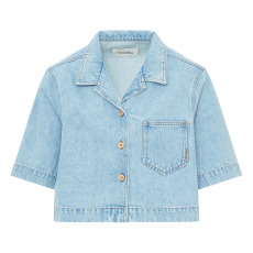 product-Nanushka Camisa Rhett Denim
