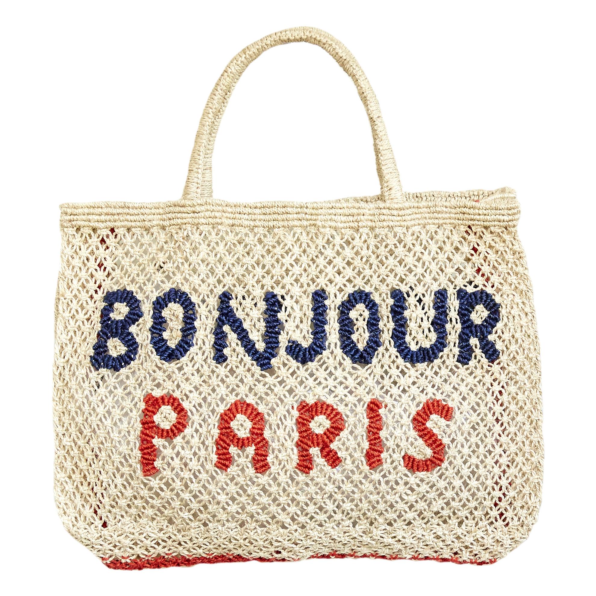 Image of Bonjour Paris Basket Bag