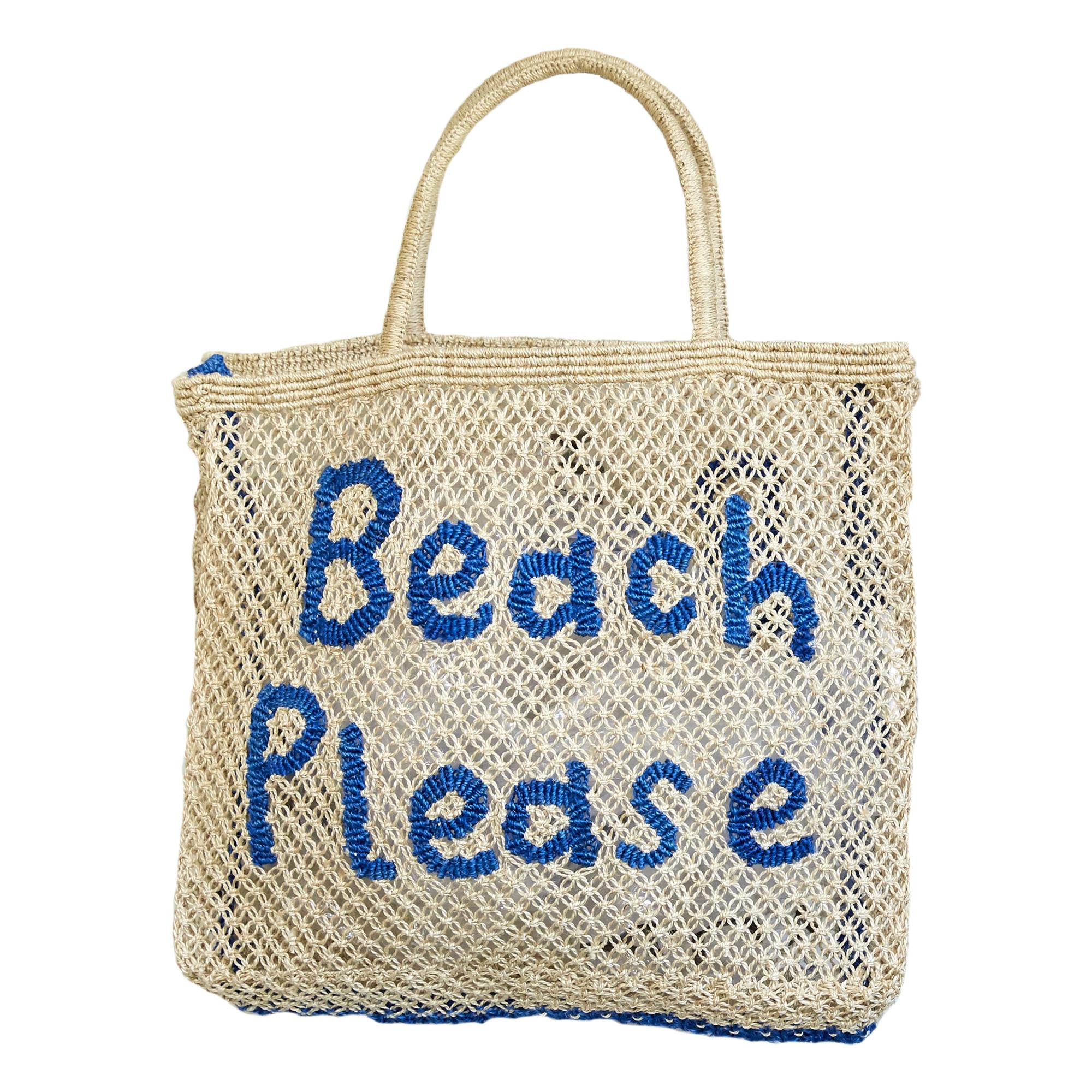 Image of Beach Please Large Basket Bag