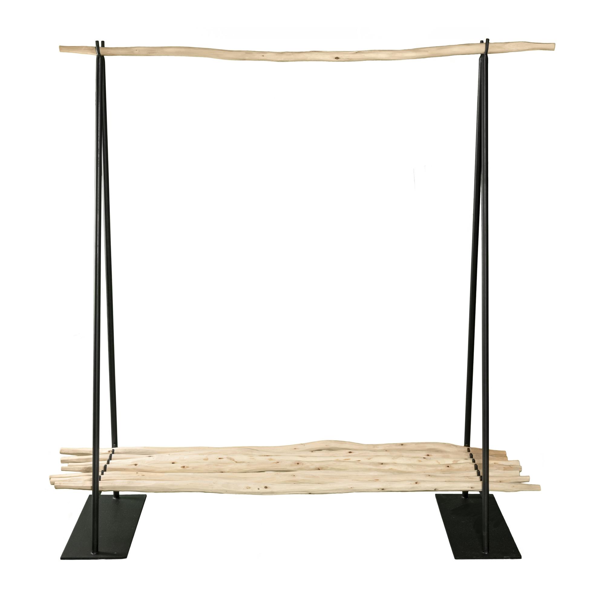 Clothing Rack with Shelf 150 x 50 cm Aktion