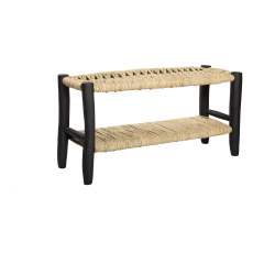 product-Cosydar Double Woven Palm Bench