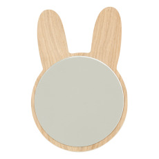 product-April Eleven Rabbit Wooden Mirror