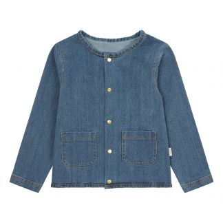 Bluse Romarin Blau Poudre Organic Mode Baby , Kind